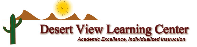 Desert View Learning Center banner